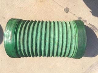 绿色橡胶风管